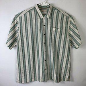 Tommy Bahama Mens 2XL XXL 100% Silk Shirt